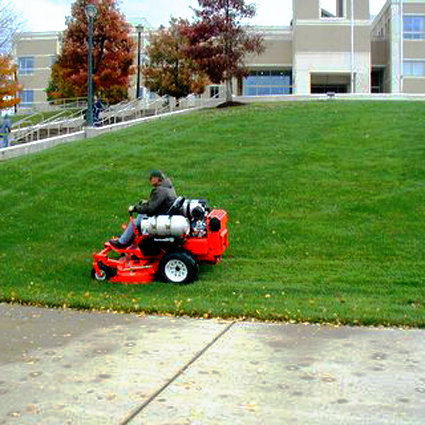 Propane lawn mower
