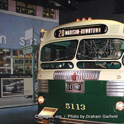 Twin Coach propane bus, model 45SP, circa 1950