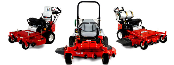 Exmark EFI Propane Powered mowers