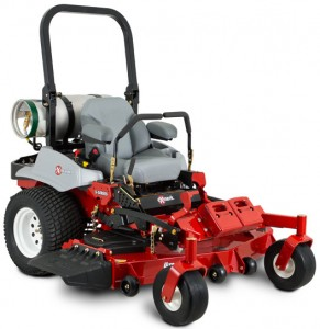 Exmark Lazer Z S-Series propane mower